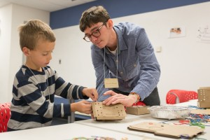 10/23/2016 - Medford/Somerville, Mass. - The Center for Engineering Education and Outreach celebrates its 20th anniversary with an open house in its maker space at 200 Boston Avenue. (Evan Sayles for Tufts University)