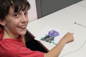 Art and Engineering paper circuits